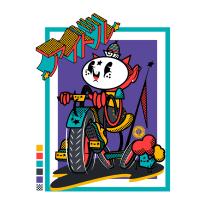 *estrella* I  D  O  L *estrella*. A Design, Illustration, Design von Figuren, Vektorillustration, Kreativität, Zeichnung und Digitale Illustration project by Ed,Edd & Eddo - 23.12.2018