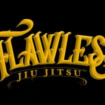 Flawless jiujitsu logo. Um projeto de Tipografia, Caligrafia, Lettering e Design de logotipo de ANGEL ANTONIO GARRIDO MORENO - 24.04.2019