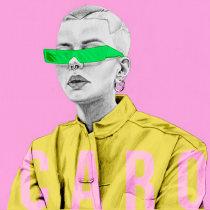 Mi Proyecto del curso: De principiante a superdibujante. A Grafikdesign, Urban Art, Kreativität, Bleistiftzeichnung, Zeichnung und Porträtzeichnung project by Daniela Muñoz - 24.04.2019