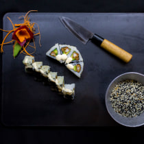 Sushi is the new black. A Cooking project by rubenmavarezb - 04.20.2019