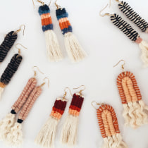 Mi Proyecto del curso: Introducción a la joyería textil artesanal. Un proyecto de Diseño, Diseño de jo, as y Diseño de moda de Alejandra Nieto Cabral - 09.05.2019