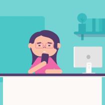 Estadística de trabajo. Un proyecto de Diseño de personajes, Animación de personajes y Animación 2D de Yadira Reyes - 09.05.2019