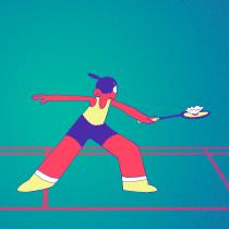 Badminton Animación. Un progetto di Animazione 2D di Rut Pedreño Criado - 16.05.2019