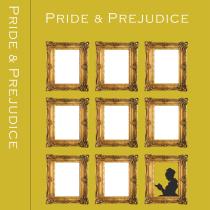 """CARÁTULA LIBRO """"PRIDE & PREJUDICE"""". Un proyecto de Diseño gráfico de sandraferrer - 27.06.2019"""