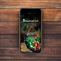 Mi Proyecto del curso: Diseño de una aplicación móvil. Um projeto de Design gráfico e Mobile design de Flori Benassi - 03.07.2019