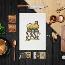 Mi Proyecto del curso: Diseño de interiores para restaurantes. Un proyecto de Br, ing e Identidad, Arquitectura interior, Diseño de interiores y Decoración de interiores de Luis Cuadrado - 05.07.2019