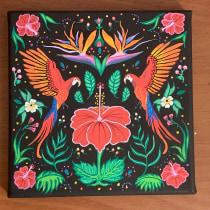 My project in Introduction to Floral Illustration with Acrylic course. Un proyecto de Ilustración y Bellas Artes de mlsdk - 03.08.2019