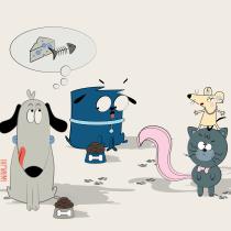 Mi Proyecto del curso: Diseño e ilustración de personajes increíbles. A Illustration project by Marta Noguera-Homs - 22.08.2019