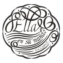 Mi Proyecto del curso: Caligrafía para un Ex libris. Um projeto de Caligrafia de Alicia de la Iglesia - 27.08.2019