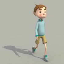 Mi Proyecto del curso: Rigging y deformación de un personaje. Un proyecto de 3D y Rigging de Karina Trujillo Trujillo - 23.09.2019