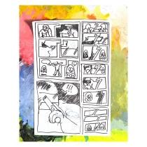 Mi Proyecto del curso: Capturando historias en cómics de fantasía. Un proyecto de Ilustración y Cómic de Michel Ortega - 27.09.2019