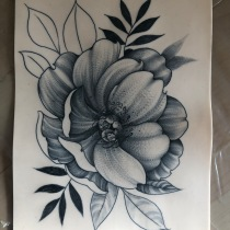 Mi Proyecto del curso: Tatuaje para principiantes. A Drawing project by lilianaferreira - 10.01.2019