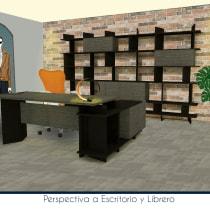 Colección de Muebles para Oficina . A Architecture, and Digital architecture project by Daniel Solís - 10.22.2019