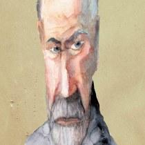 Mi Proyecto del curso: Sigmund Freud. A Illustration project by Adriana Rey - 10.23.2019