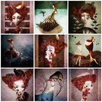 Mi Proyecto del curso: Creación de un porfolio de ilustración en Instagram. Um projeto de Ilustração de Anca Balaj - 07.11.2019