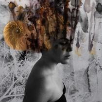 Ilustración artística con técnicas experimentales. Un projet de Beaux Arts, Illustration numérique, Aquarelle, Illustration de portrait , et Conception digitale de Roxana Brizuela - 04.12.2019
