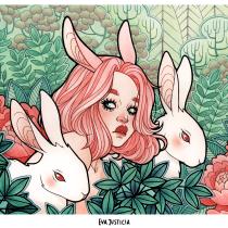 Mi Proyecto del curso: Animalario botánico: acuarela, tinta y grafito. A Illustration, Drawing, Portrait illustration, and Artistic drawing project by Eva Justicia Roldan - 12.22.2019