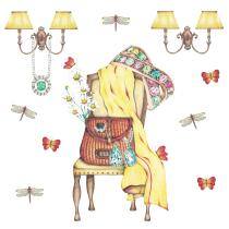 Hotel Moonrise. Mi Proyecto del curso Ilustración comercial con lápices de colores. Un proyecto de Ilustración y Dibujo a lápiz de Marisa Licata - 24.12.2019