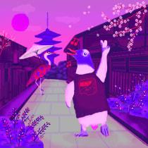 Mi Proyecto del curso: Ilustración digital con texturas en Photoshop. Un proyecto de Ilustración digital de sebapoelstra - 03.01.2020