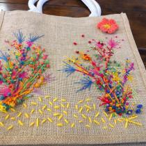 Mi Proyecto del curso: Bordado y personalización de accesorios . A Embroider project by claudia_vogt - 01.22.2020