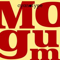 Mogum (First Version). Un proyecto de Tipografía de Damián Guerrero Cortés - 31.10.2019