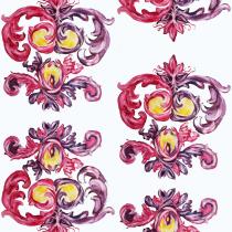 Mi Proyecto del curso: Diseño de estampados con la técnica del tresbolillo. Um projeto de Design de M Jesús Díaz Suárez - 11.02.2020
