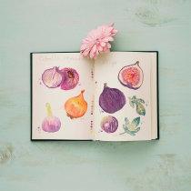Mi Proyecto del curso: Ilustración de un diario naturalista. Un proyecto de Ilustración, Pintura a la acuarela e Ilustración botánica de cindyluv - 18.02.2020