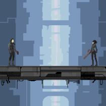 Mi Proyecto del curso: Tributo BLAME!. Un proyecto de Pixel art de nicolasbassano - 19.02.2020