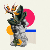 Proyecto de Collage Digital. Un projet de Collage de Natalia Auza - 12.03.2019