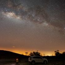 Milky way in Panama. Um projeto de Fotografia de gordon.erick - 26.02.2020