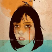 Meu projeto do curso: Técnicas de ilustração com aquarela digital. Un projet de Illustration numérique de Jéssica Mattos - 24.02.2020