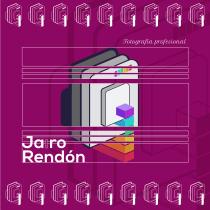Identidad. Jairo Rendón, Fotografía profesional. Un proyecto de Br e ing e Identidad de Óscar Méndez Gutiérrez - 04.03.2020