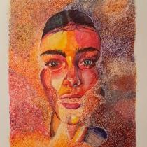 Mi Proyecto del curso: Ilustración realista con bolígrafos de colores. A Illustration project by Elena Narro Medrano - 19.03.2020