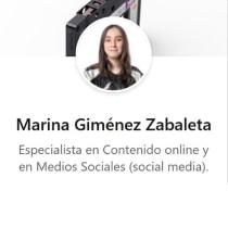 Mi Proyecto del curso: LinkedIn: construye tu marca personal . A Br, ing und Identität und Digitales Marketing project by Marina Giménez Zabaleta - 21.03.2020
