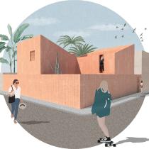 Mi Proyecto del curso: Representación gráfica de proyectos arquitectónicos. Un progetto di Architettura di Carolina Rojas - 24.03.2020