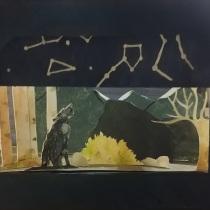 Mi Proyecto del curso: Ilustración y construcción de un teatro de papel. Un proyecto de Ilustración infantil de Laetitia Farah - 24.03.2020
