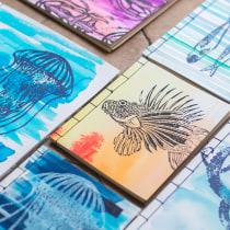 Encuadernación japonesa.. Um projeto de Criatividade e Encadernação de Candela Nieto - 27.03.2020