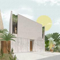 Mi Proyecto del curso: Representación gráfica de proyectos arquitectónicos. A Design, Architektur, Grafikdesign und Digitale Architektur project by Yissel Alanis - 31.03.2020