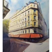 My project in Architectural Sketching with Watercolor and Ink course. Un projet de Peinture , et Esquisse  de Ekaterina Chistiakova - 01.04.2020