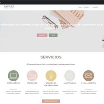 Mi web Safari Diseño . Un proyecto de Diseño Web de Jime Belmar - 01.04.2020