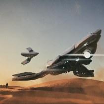 Mi Proyecto del curso: Diseño y modelado de una nave sci-fi en 3D. A 3-D project by Maximiliano Hache - 05.04.2020