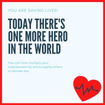 Comparte tu experiencia con otros donantes. Un proyecto de Redes Sociales y Marketing Digital de David Vartanian - 05.04.2020