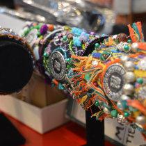 Gorras bordadas con técnicas aprendidas.. Um projeto de Design de acessórios, Design de interiores e Design de moda de info - 06.04.2020