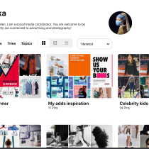 My project in Pinterest Business as a Marketing Tool course. Un progetto di Pubblicità di Elena Soroka - 07.04.2020