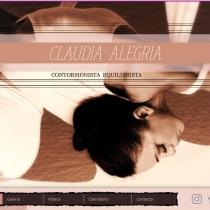Mi pagina WEB. Un proyecto de Marketing de Claudia Alegria - 10.04.2020