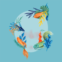 Mi Proyecto del curso: Filtros ilustrados para Facebook e Instagram Stories. A 3-D und Digitale Illustration project by Tamara Castro Laplaña - 12.04.2020