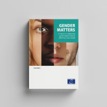 """Gender Matters - Mi Proyecto del curso """"Diseño editorial automatizado con Adobe InDesign"""". A Editorial Design project by Pedro Meca - 04.13.2020"""