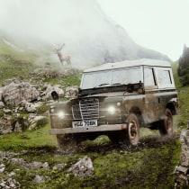 Vintage 4x4 Escape a la montaña. Um projeto de Fotografia e Retoque fotográfico de iyeraycc - 14.04.2020