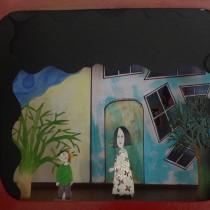 Mi Proyecto del curso: Ilustración y construcción de un teatro de papel. Un proyecto de Ilustración de Irene Calero - 22.04.2020