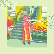 Mi Proyecto del curso: Ilustración digital con texturas en Photoshop. A Illustration, and Digital illustration project by Gemma Verdú - 04.23.2020